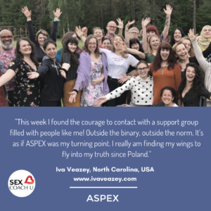 ASPEX graduates celebrate peer support and deep healing.
