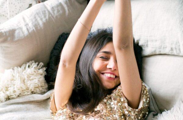 A woman celebrates her healing through self pleasure