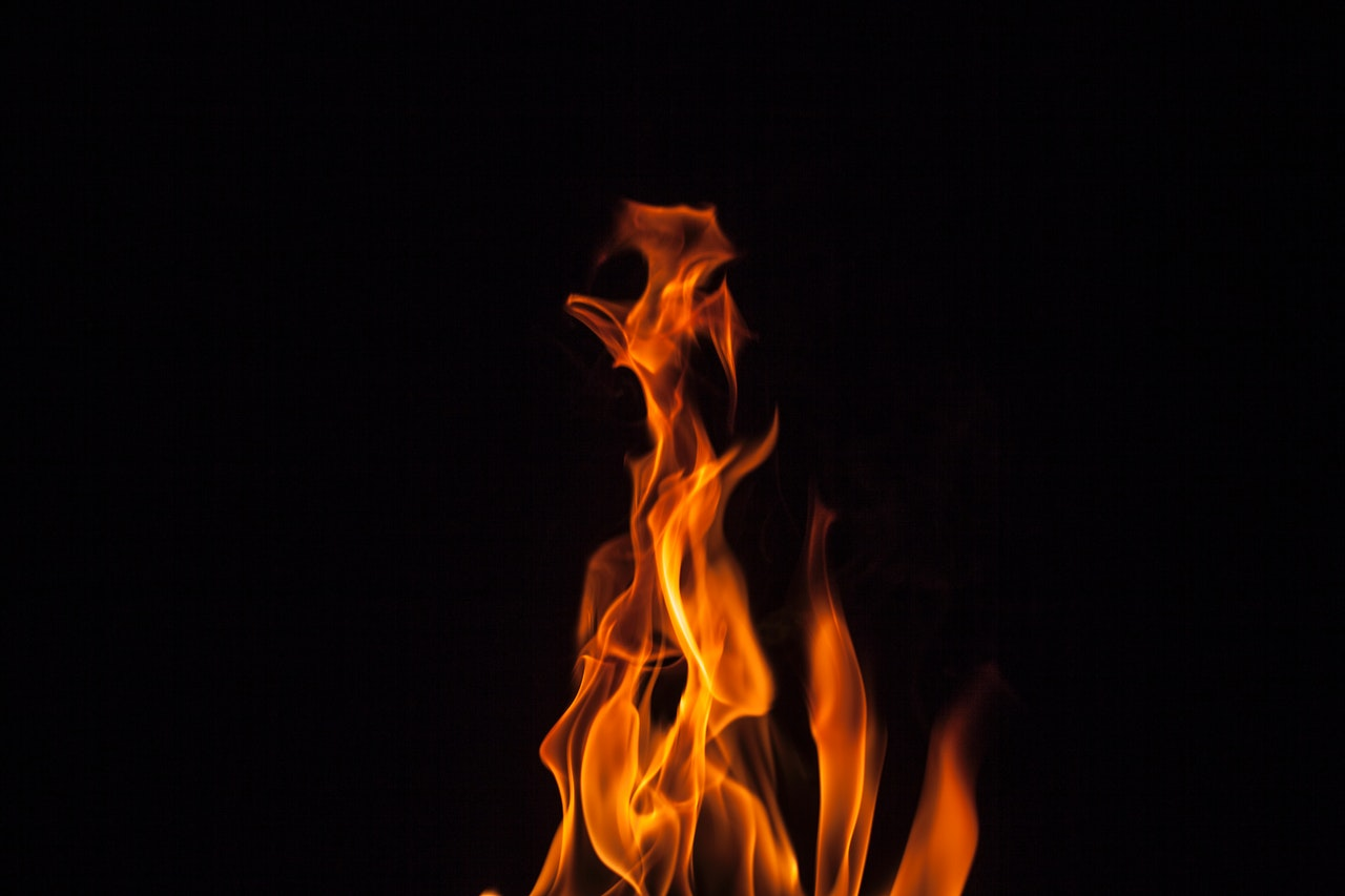 a flame that symbolizes aries sexuality