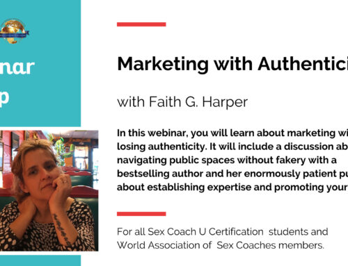 "Dr. Faith Harper Presented ""Marketing With Authenticity"""
