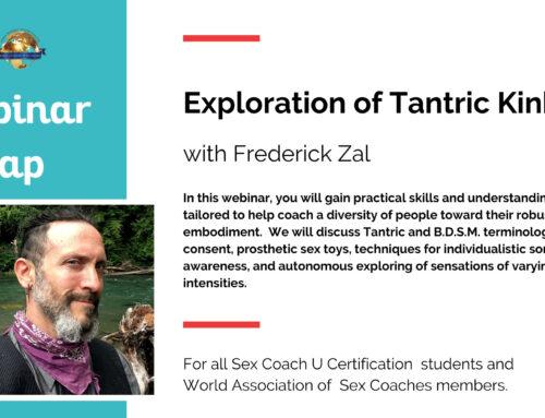Fredrick Zal Presents an Exploration of Tantric Kink