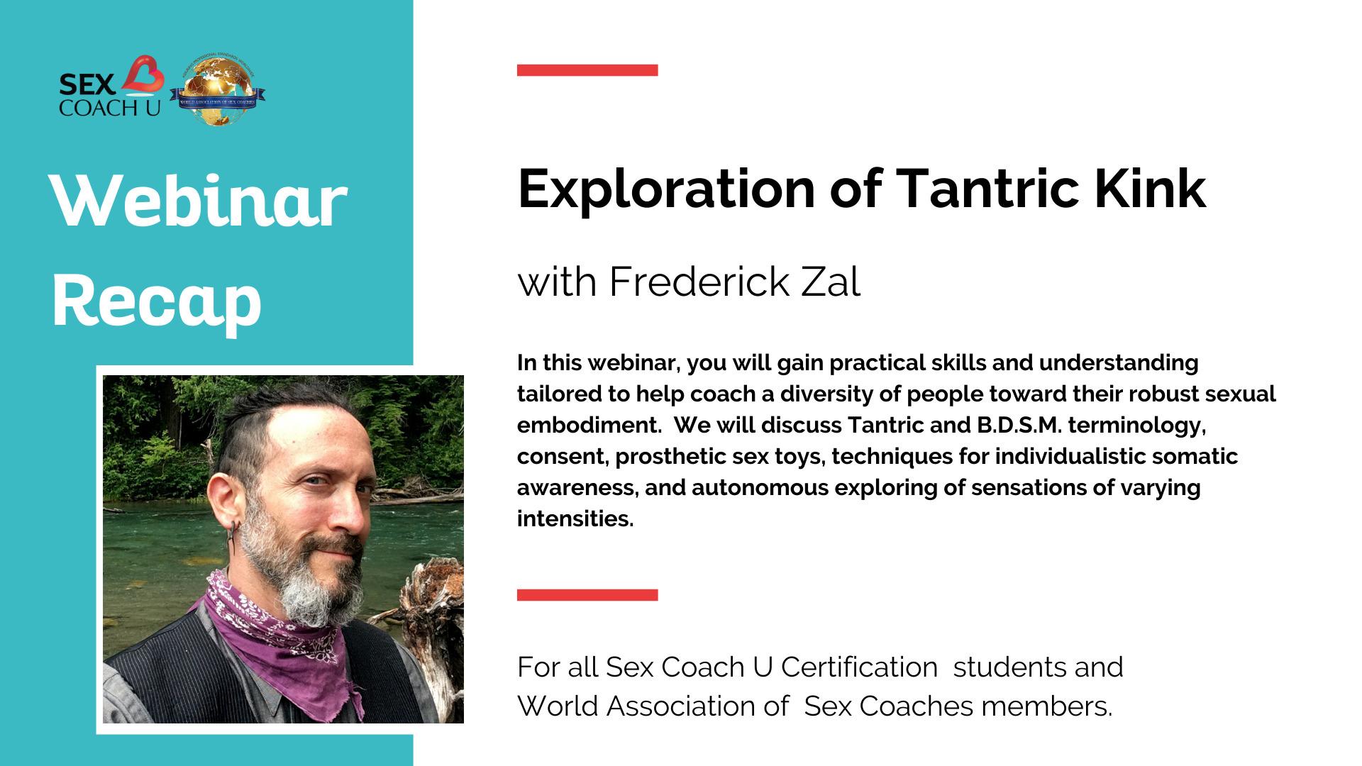 a graphic describing the tantric kink webinar