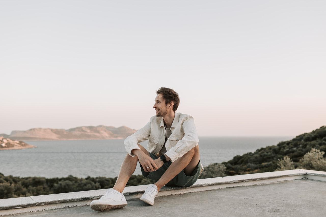 a sex coach smiling because of good work/life balance