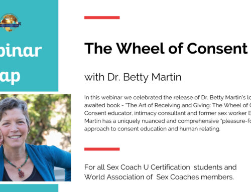 Dr. Betty Martin Presented The Wheel of Consent
